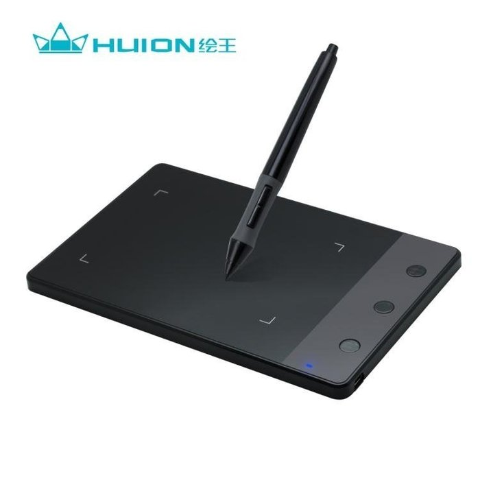 繪王H420數位板 手寫板簽名板動漫繪圖板繪畫板電腦手繪板畫圖板