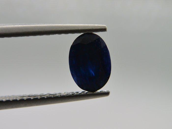天然藍寶石Sapphire  橢圓形刻面寶石 裸石 戒面 1.035T