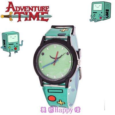 現貨 ☆ ╮美國Happy購╭☆ Adventure Time 探險活寶  BMO 嗶莫 設計款 圓框款手錶