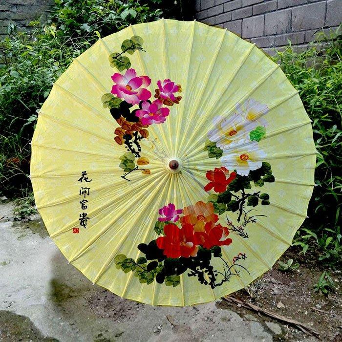 5Cgo【鴿樓】含稅會員有優惠 20136146528 手工油紙傘古典傳統防雨防曬油紙傘拍戲舞蹈道具擺拍道具清朝古典風