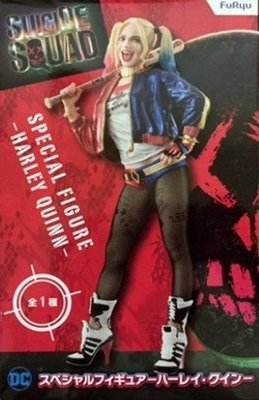 日本正版 景品 FURYU 自殺突擊隊 小丑女 哈莉 奎茵 SP 公仔 模型 日本代購