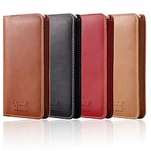 A3 M7s G5s Plus Z Play 5.5吋 牛皮仿製真皮夾保護套長夾錢包手機套皮套插卡層A1235