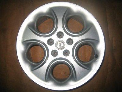 【益和輪胎】5孔110 Alfa Romeo 166 原廠17吋鋁圈,SPEEDLINE代工...........