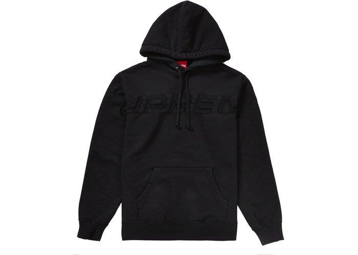 全新商品 Supreme 19SS Set In Logo Hooded Sweatshirt 連帽 長袖 帽TEE