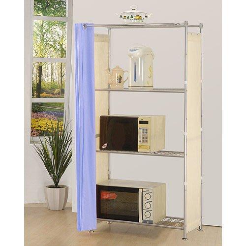 【中華批發網DIY家具】D-57-05-W4型90公分層架---可升級成完全防塵層架