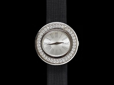 【北林流當品】PIAGET 伯爵 伯爵錶 Possession系列 原鑲鑽石 18K白金 2017年保卡