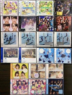 AKB48 CD+DVD 日版台版碟