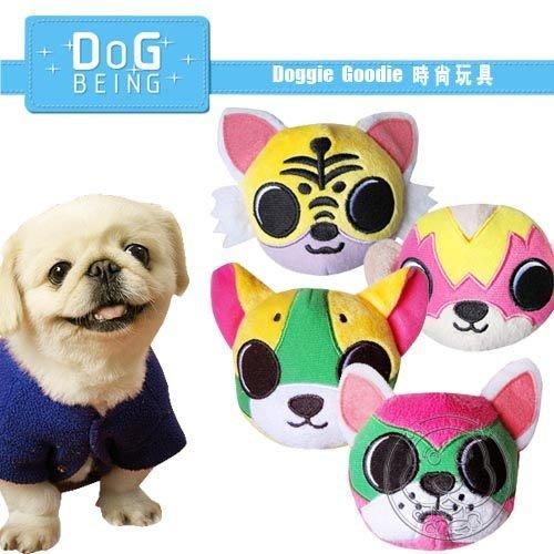 【🐱🐶培菓寵物48H出貨🐰🐹】Doggie Goodie》時尚寵物絨毛玩具-露莎戰士9cm 特價190元