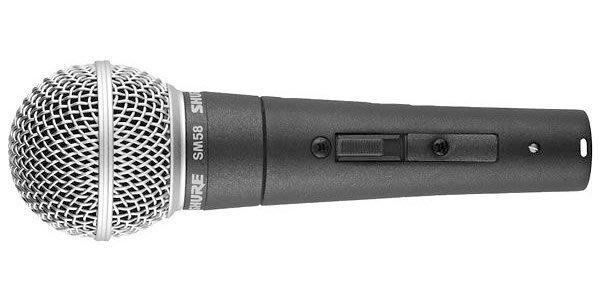 【六絃樂器】全新 Shure SM58 SE 動圈式麥克風 新麗聲公司貨 / 舞台音響設備 專業PA器材