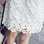 ❤Shinena 千奈公主❤ 摟空純棉蕾絲連身裙 短袖蕾絲洋裝【Q3-0145】*現貨