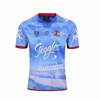 18澳大利亞雄雞客場橄欖球服1617澳大利亞Sydney Roosters rugby ggaw