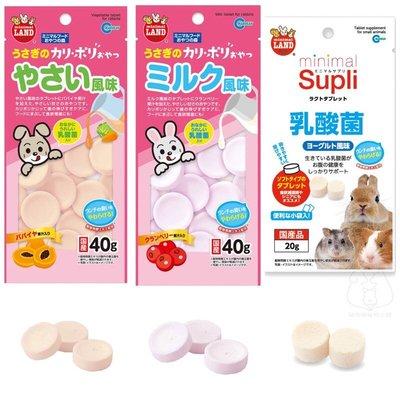 現貨 日本馬卡Marukan 小動物專用乳酸菌 木瓜/蔓越莓口味40g 倉鼠/黃金鼠/兔子/天竺鼠/龍貓乳酸菌 兔子零食