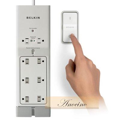 [Anocino]  美國貝爾金 Belkin Conserve Switch Remote 電源插座(附開關) 電源延長線