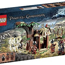 LEGO Pirates of the Caribbean 4182 The Cannibal Escape 全新 未開盒 B1