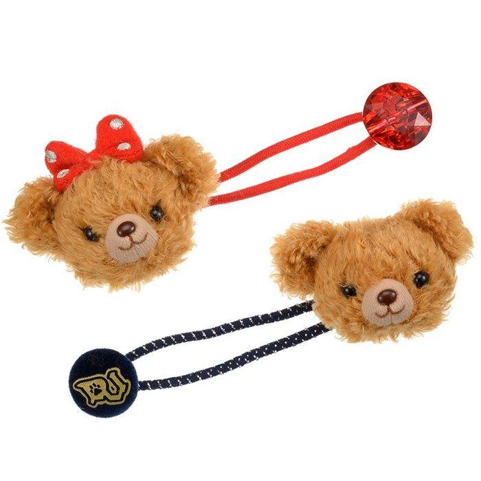 *B Little World * [現貨]東京迪士尼專賣店限定商品/可可手偶/大學熊髮束/東京連線