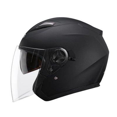 雙鏡片電動摩托車頭盔男女士電瓶車四季夏季防曬通用安全帽子 QQ3369
