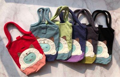 日本卡拉貓~貓咪的夢想滿滿魚防水手提袋