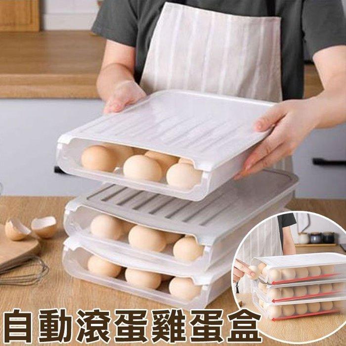 自動滾蛋雞蛋盒 廚房用品 雞蛋收納