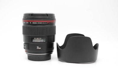 【高雄青蘋果3C】Canon EF 35mm f1.4 L UZ鏡 二手鏡頭 #60664