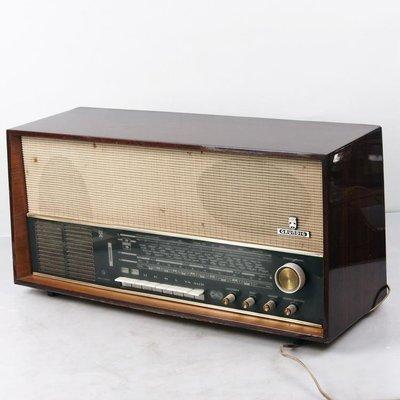 百寶軒 德國古董銘機根德Grundig4097FM調頻電子管收音機膽機音色溫暖 ZG3181