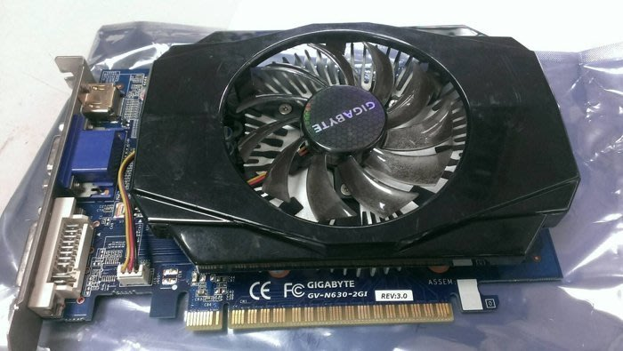 【光華維修中心】技嘉 GV-N630-2GI DDR3 顯示卡(二手良品)-P162