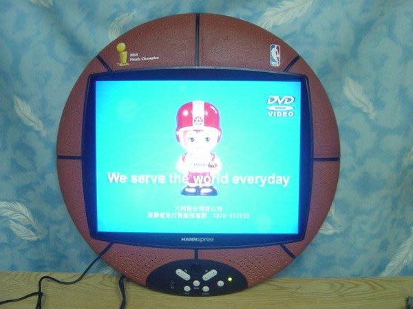 Y【小劉二手家電】HANNSPREE液晶電視,外框是籃球皮觸感,有紀念價值