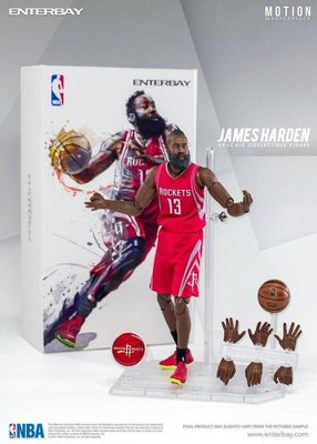 全新現貨 1/9 - NBA Collection James Harden詹姆士-哈登特價~4800含運