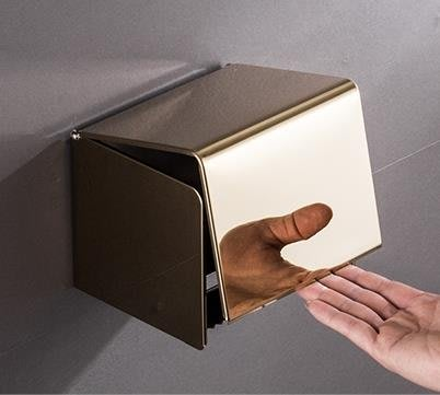 紙巾盒廁紙盒衛生紙盒廁所紙巾架不銹鋼 JA2001