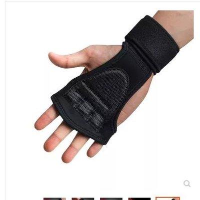 引體向上硬拉帶護腕護掌防滑透氣助力帶健身手套男女單杠運動護掌