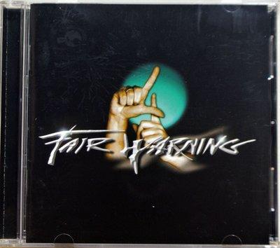 Fair Warning - 4 (Four) 二手台版