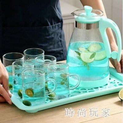 咖啡杯套裝 玻璃高檔簡約咖啡具家用水杯 ZB1672