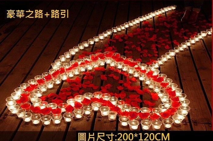 排字 蠟燭 浪漫之路+路引【豪華二合一】 求婚 蠟燭 創意生日禮物 情人節禮物 浪漫套餐生日35號【P11002301】
