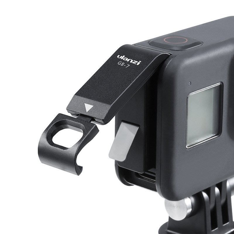 ULANZI G8-7 適用GoPro8運動相機金屬電池蓋 狗8可充電側蓋配件 雲上仙