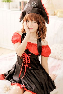 Female Adult Halloween Pirate Costumes Fashion Dress Sexy