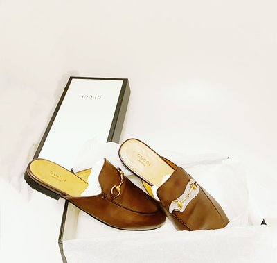 🍒GUCCI 穆勒鞋~九成新~~價錢怎麼這麼...😱😱size:39.5 (2F103001)