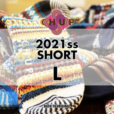 BTO 日本【CHUP】L號 2021春夏中筒襪 Hand Linking 傳統製法民族風精品襪