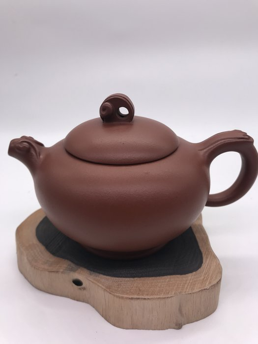 80年海波(紅泥土)茶壺