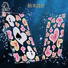 粉紅愛心透明塑膠撲克牌