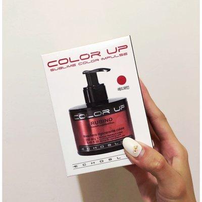 韓國帶回 color up 染髮洗髮精 補色洗髮精 紅色補色洗髮 義大利製 使用過一次 便宜賣出