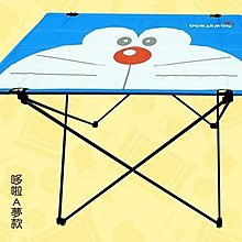【網購星球】7-11 野餐折疊桌 (哆啦A夢款)
