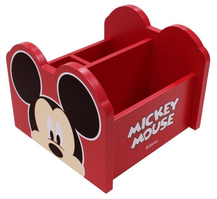 GIFT41 4165本通 三重店 迪士尼 米奇 MK 旋轉收納盒 MK-0024