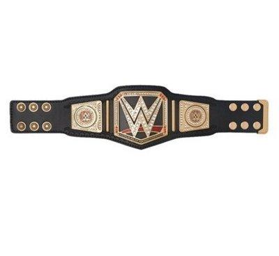 ☆阿Su倉庫☆WWE World Heavyweight Championship Mini Belt 迷你金屬冠軍腰帶