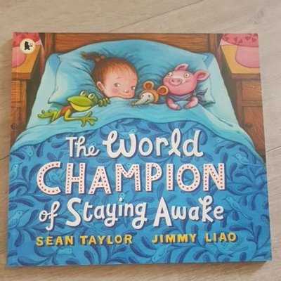 6折 二手 童書 The World Champion of Staying Awake 幾米 平裝 英文 繪本 故事書