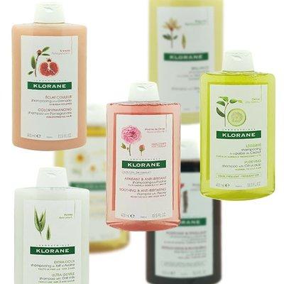 法國 KLORANE 蔻蘿蘭 植物洗髮精 400ml 款式可選 奎寧養髮 蕁麻控油 芍藥【V027490】PQ美妝