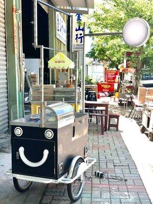 中古餐飲設備/行動腳踏車餐車/夜市移動攤車估價回收服務