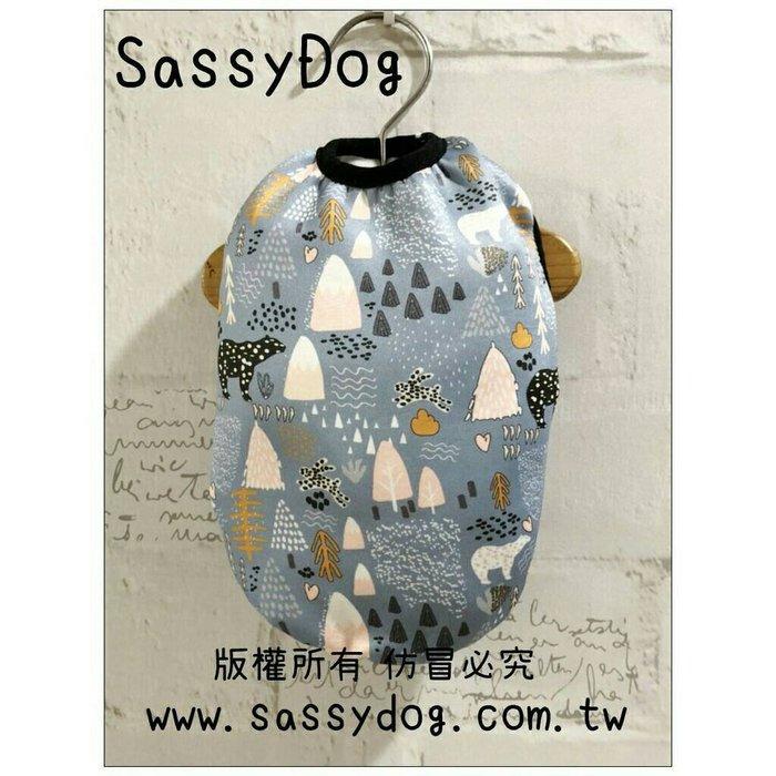 SassyDog 寵物服飾用品批發💥森林北極熊保暖背心/保暖衣💥狗衣服批發