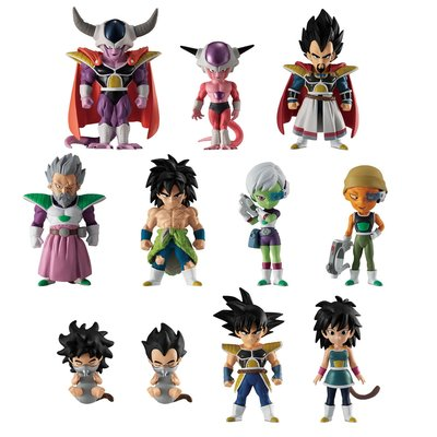 Bandai Dragon Ball FW Adverge Broly Premium Set (limited) 龍珠盒蛋 布羅利 比達 菲利 BB