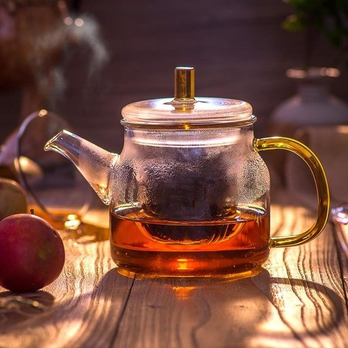 泡茶壺高溫耐熱過濾花茶家用玻璃水壺泡茶器小號煮茶功夫茶具套裝  芊芊思語 (可開立發票)