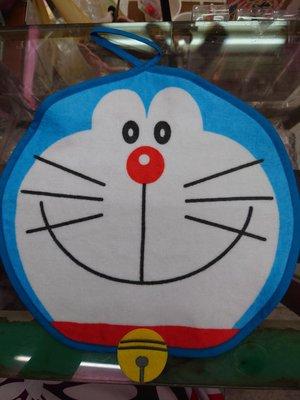 【皇后日舖】日本 哆啦A夢 經典 手帕毛巾 杯墊鍋墊 直徑約30公分