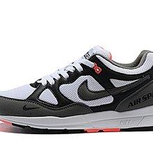 D-BOX Nike Air Span II 黑灰 紅 低筒 復古休閑鞋 慢跑鞋 男鞋